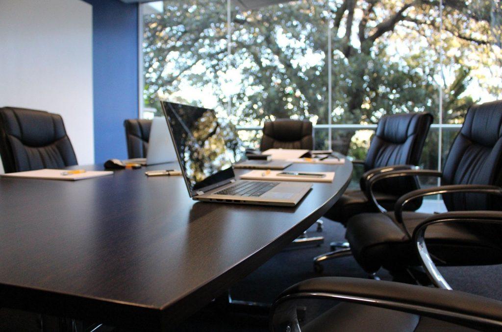 Empty Office Boardroom